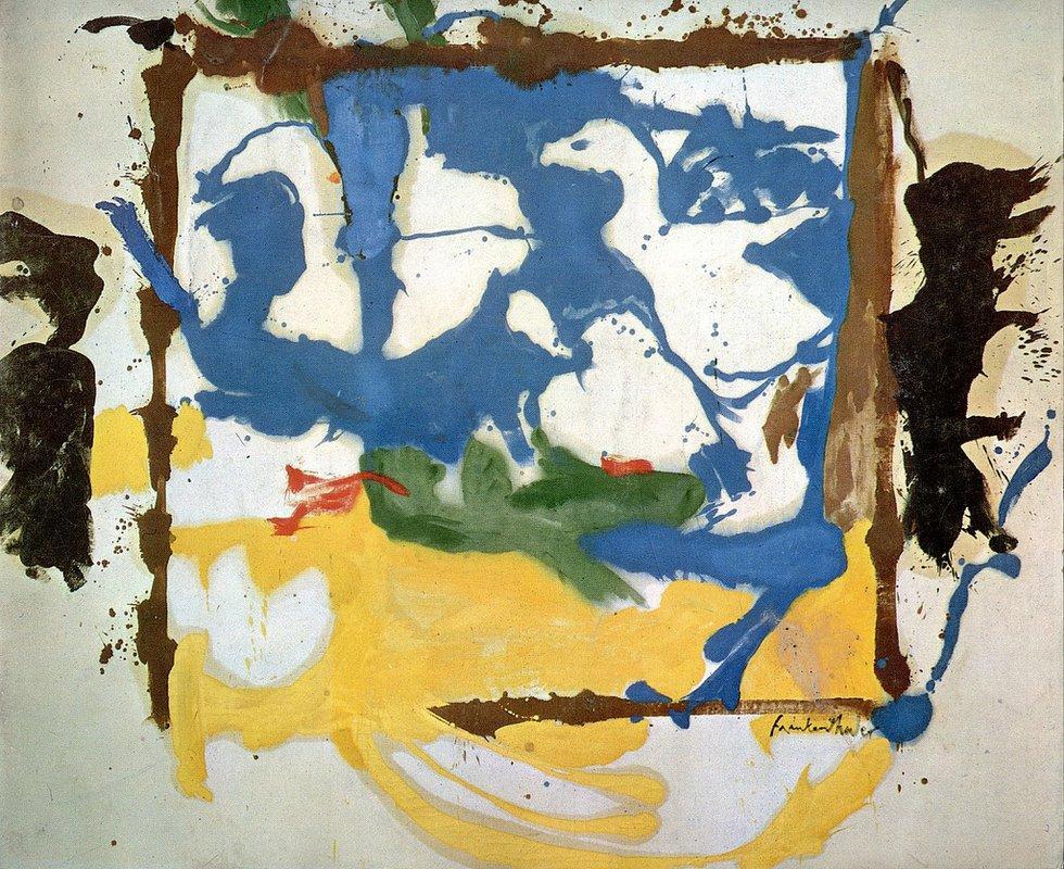 Swan Lake #2 - Helen Frankenthaler