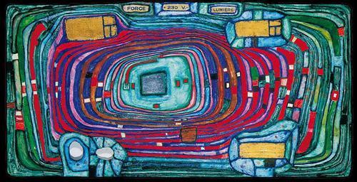 816 Switch Board - Friedensreich Hundertwasser