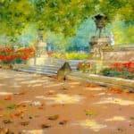Terrace, Prospect Park – William Merritt Chase