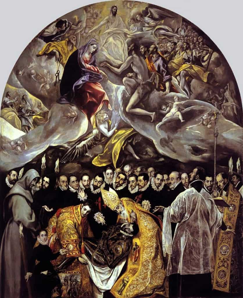 the The Burial of Count Orgaz