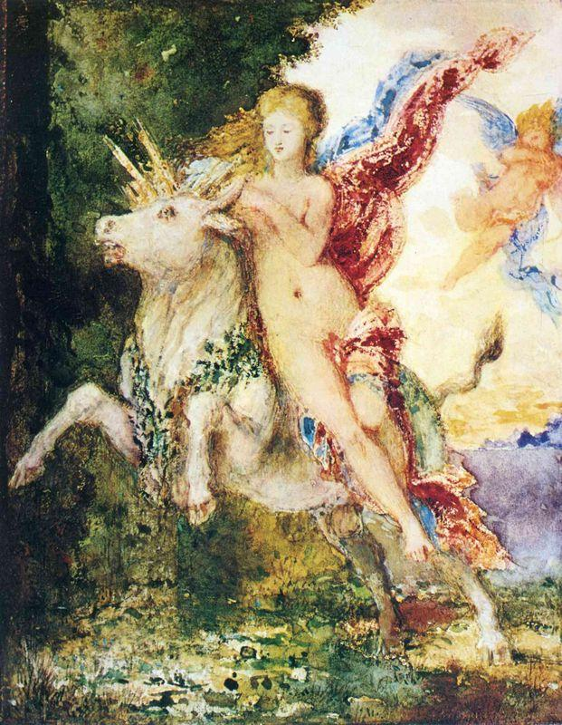 The Abduction of Europa - Gustave Moreau