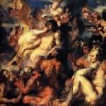 The Apotheosis of Aeneas - Jacob Jordaens