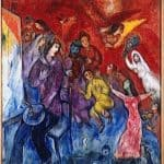 The Appearance of the artist's family – Marc Chagall