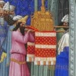 The Ark of God Carried into the Temple – Limbourg brothers