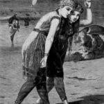 The bathers – Aubrey Beardsley