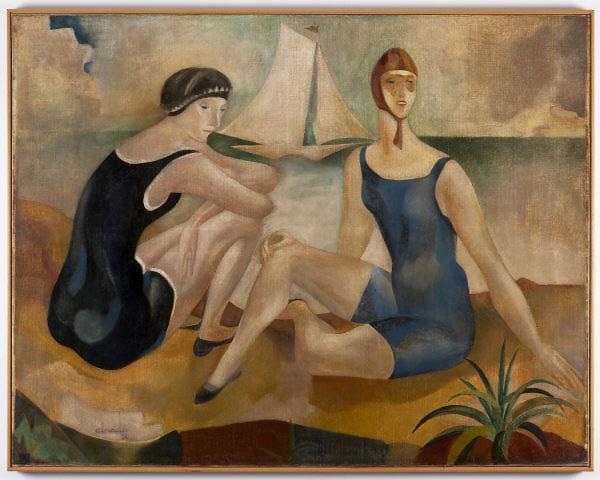 The Bathers - Jose de Almada-Negreiros