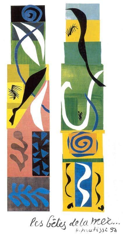 The Beasts of The Sea - Henri Matisse