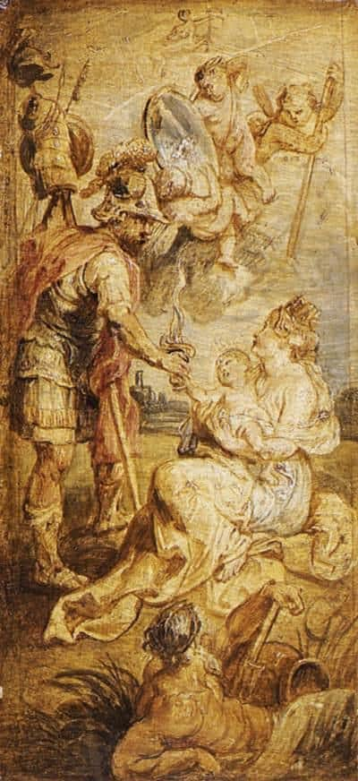 The Birth Of Henri Iv Of France - Peter Paul Rubens