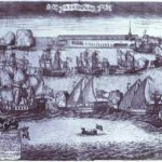 The Bringing of 4 Swedish Frigates in St. Petersburg after the Victory in the Battle of Grengam September 8 1720 – Alexey Zubov