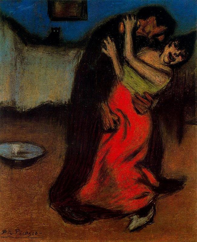 The Brutal Embrace - Pablo Picasso