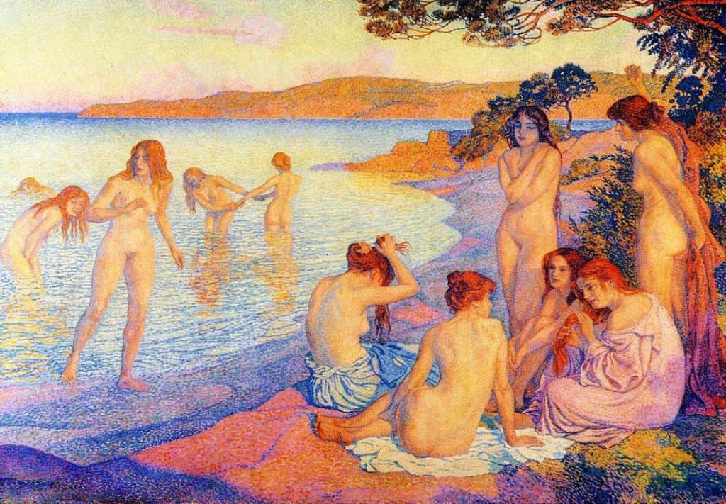 The Burning Time - Theo Van Rysselberghe