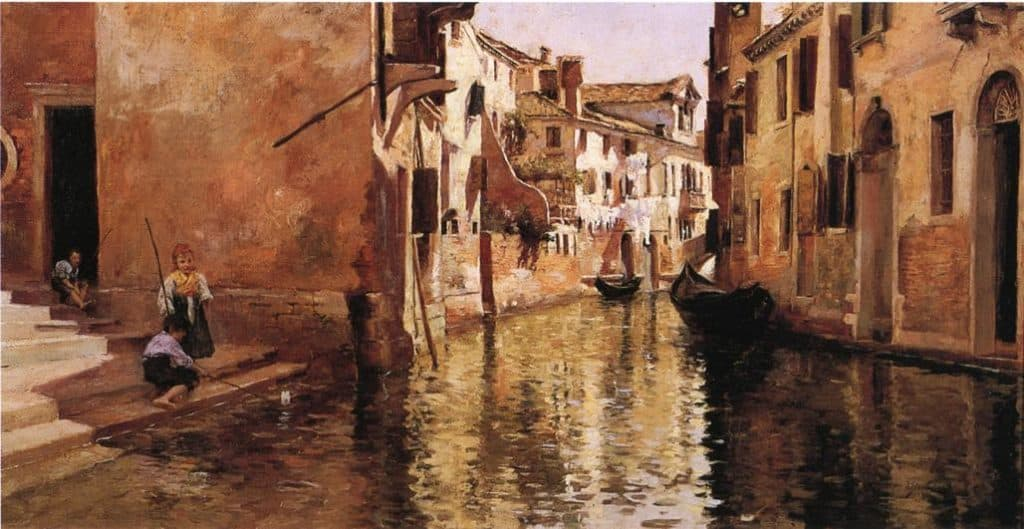 The Canal - Julius LeBlanc Stewart