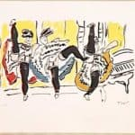 The Cancan – Fernand Leger