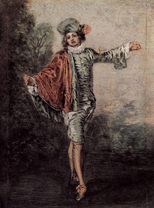 The Casual Lover - Antoine Watteau