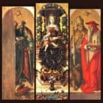 The central panels of the polyptych – Carlo Crivelli