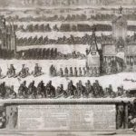 The Ceremonial Entry of the Russian Troops to Moscow on December 21, 1709 after their Victory in the Battle of Poltava – Alexey Zubov