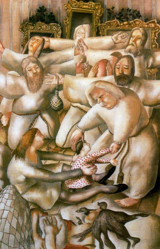 The Coming Of The Wise Men (The Nativity) - Stanley Spencer