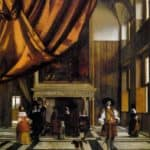 The Council Chamber of the Burgermasters – Pieter de Hooch