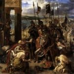 The Crusaders' entry into Constantinople, 12th April 1204, 1840 (oil on canvas) – Eugene Delacroix