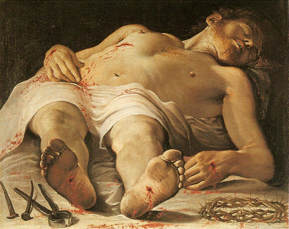 Corpse of Christ - Annibale Carracci