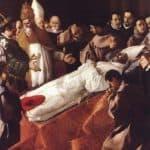 The Death of St. Bonaventura – Francisco de Zurbaran