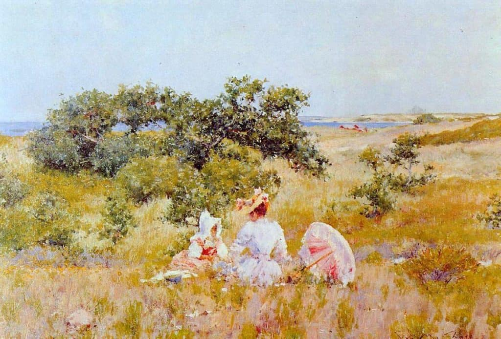 The Fairy Tale - William Merritt Chase