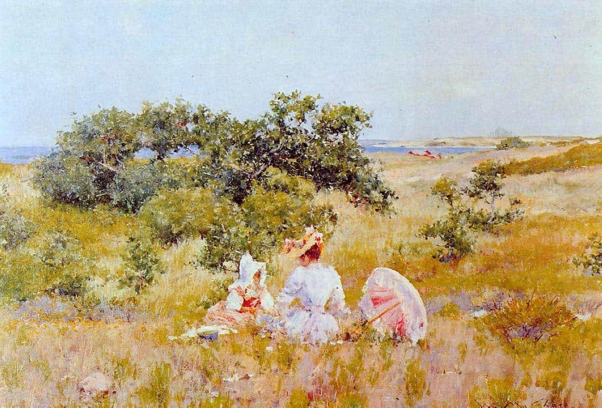 The Fairy Tale - William Merritt Chase