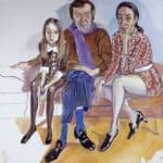 The Family (John Gruen, Jane Wilson and Julia) – Alice Neel