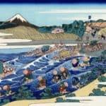 The Fuji from Kanaya on the Tokaido – Katsushika Hokusai