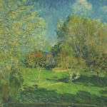 The Garden of Hoschede, Montgeron – Alfred Sisley