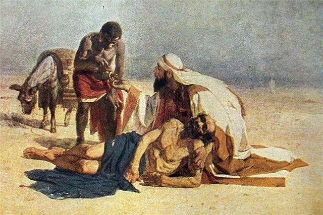 The Good Samaritan - Vasily Surikov