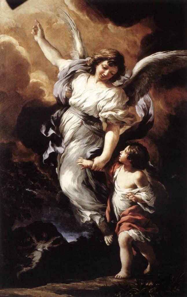 The Guardian Angel - Pietro da Cortona