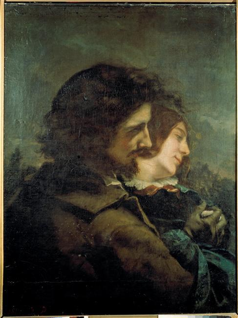The Happy Lovers – Gustave Courbet
