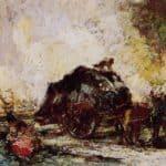 The Hay Card – Adolphe Joseph Thomas Monticelli