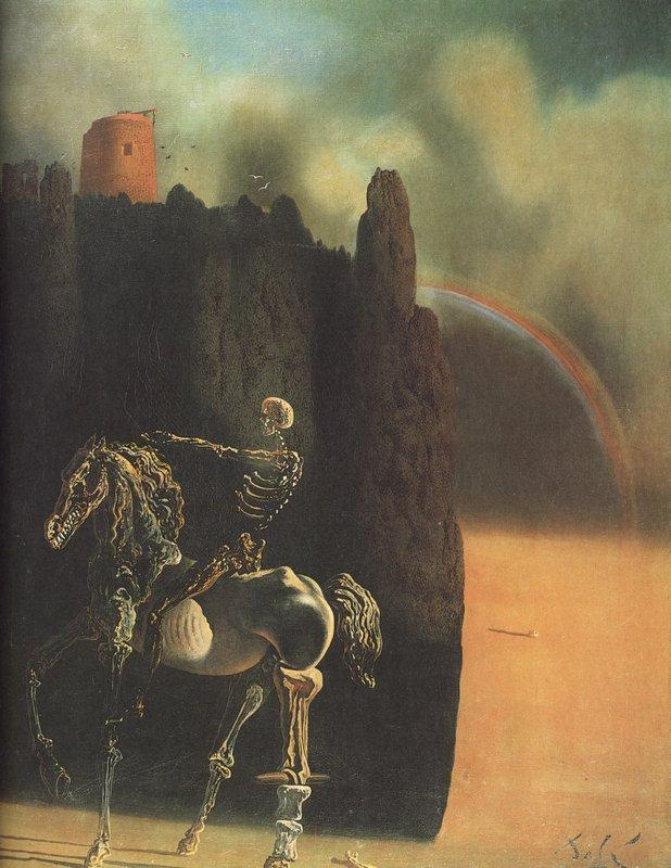 The Horseman of Death - Salvador Dali