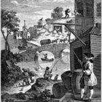 Satire on False Perspective – William Hogarth