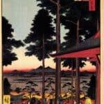 The Inari Shrine at Oji – Hiroshige