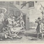 The Invasion, England – William Hogarth