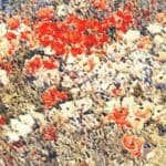 The island garden – Childe Hassam