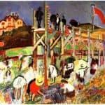 The Jetty at Sainte-Adresse – Raoul Dufy