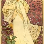 The Lady of the Camellias – Alphonse Mucha