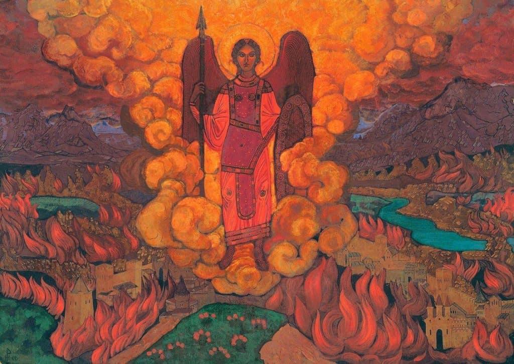 The Last Angel – Nicholas Roerich