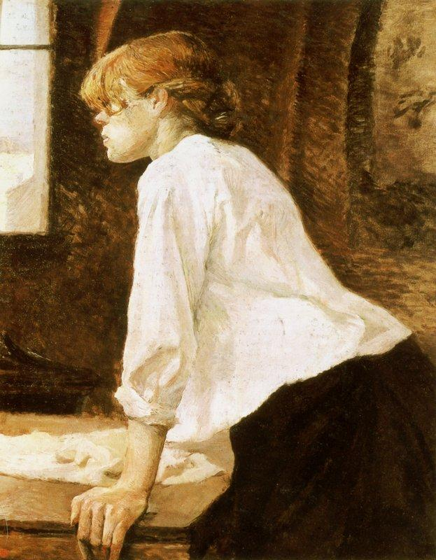 The Laundry Worker - Henri de Toulouse-Lautrec