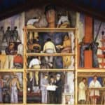 The Making of a Fresco, Showing The Building of a City – Diego Rivera