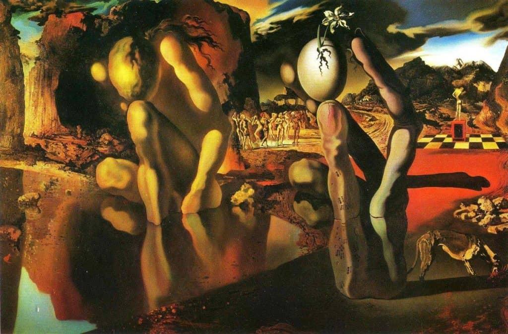 The Metamorphosis Of Narcissus - Salvador Dali