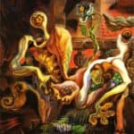 The Metamorphosis Of The Lovers – Andre Masson