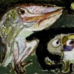 The Moon and the Animals – Asger Jorn