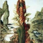 The Mystic Flower – Gustave Moreau