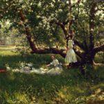 The Old Apple Tree – Robert Julian Onderdonk