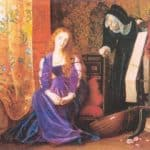 The Pained Heart', or 'Sigh No More, Ladies' – Arthur Hughes